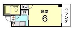 Flourish Naka[203号室]の間取り