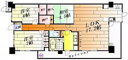 ミリカ・テラス3街区[4階]の間取り