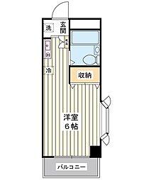 プチファミール[2階]の間取り