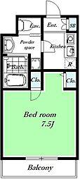ハーベストファーム[305号室]の間取り