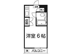 Iマンション多摩[2階]の間取り