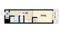 昭和ビル[205号室]の間取り