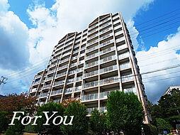 兵庫県神戸市灘区六甲台町の賃貸マンションの外観