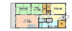 マリンハイム塩屋[1階]の間取り