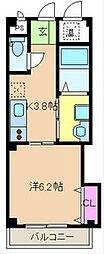 Ms cube II[2階]の間取り