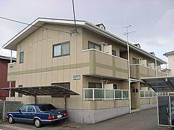京都府城陽市寺田庭井の賃貸アパートの外観