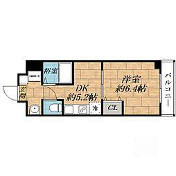 第6関根マンション[7階]の間取り