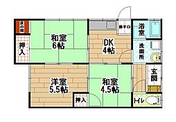 [一戸建] 福岡県北九州市小倉南区守恒2丁目 の賃貸【/】の間取り