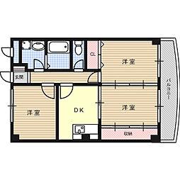 シティコートSUMISYOI[3階]の間取り