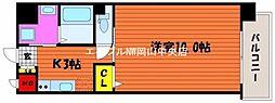 柳町Aマンション[4階]の間取り