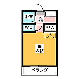 ハイム高川 C棟[2階]の間取り