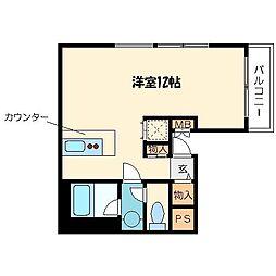 サンクチュアリーコート[8階]の間取り