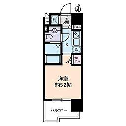ヴェルステージ川崎[4階]の間取り