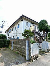 神奈川県藤沢市鵠沼藤が谷1丁目の賃貸アパートの外観