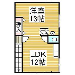 [一戸建] 北海道苫小牧市日新町6丁目 の賃貸【/】の間取り