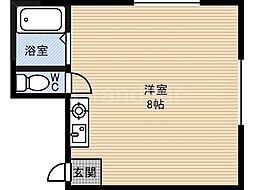 石橋ハイツ[3階]の間取り