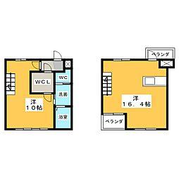 ASKA HILLS[3階]の間取り