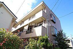 岡山県倉敷市西阿知町新田丁目なしの賃貸マンションの外観