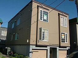 北海道札幌市東区北十九条東12丁目の賃貸アパートの外観