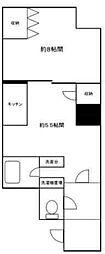 神奈川県川崎市中原区田尻町の賃貸マンションの間取り