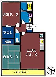 ノーブルヒル[306号室]の間取り
