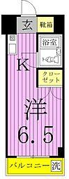 エレガンス綾瀬5[6階]の間取り