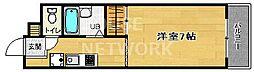 パルデメール[3-D号室号室]の間取り