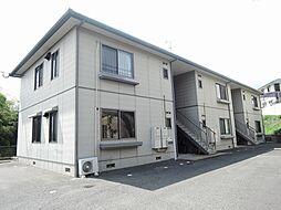 福岡県中間市中尾4丁目の賃貸アパートの外観