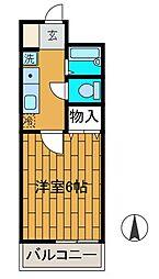 パークハイツ百合ヶ丘[1階]の間取り