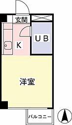 メゾン・ド・ノア聖蹟桜ヶ丘[412号室]の間取り