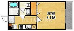 (仮称)上京区北玄蕃町共同住宅[302号室号室]の間取り
