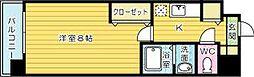ベイプレイス小倉[12階]の間取り