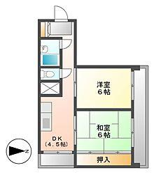 福信ビル[7階]の間取り