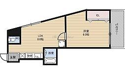 京橋駅 4.8万円