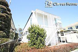 東京都町田市根岸町の賃貸アパートの外観