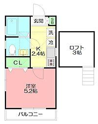ブルーステージ本郷台[2階]の間取り