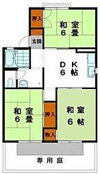 メゾン松本D棟[2階]の間取り