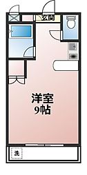 神奈川県海老名市中央1丁目の賃貸マンションの間取り
