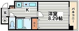 COZY南久宝寺[5階]の間取り