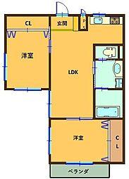 名鉄犬山線 犬山口駅 徒歩7分の賃貸アパート