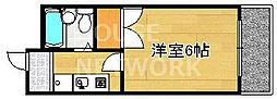 グレース紫竹[205号室号室]の間取り