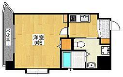 ベネフィス赤坂[6階]の間取り