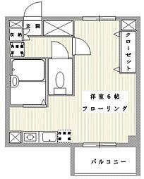 東京都豊島区西池袋2丁目の賃貸マンションの間取り
