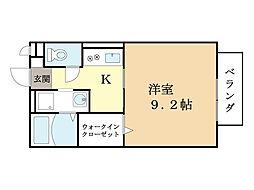 山葵[1階]の間取り