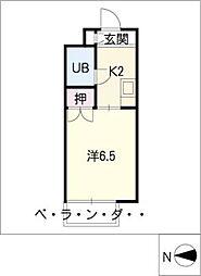 KUWABARAビルII[3階]の間取り
