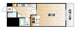 サルヴァトーレ西小倉[2階]の間取り