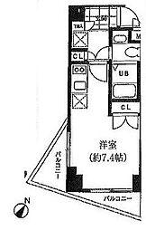 JPC北品川[2階]の間取り