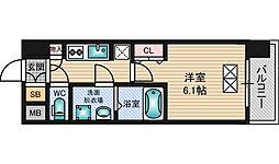スプランディッド新大阪DUE[5階]の間取り