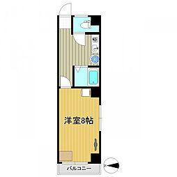 弁慶仙台東口ビル[3階]の間取り