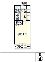 メゾン砂ノ口[1階]の間取り